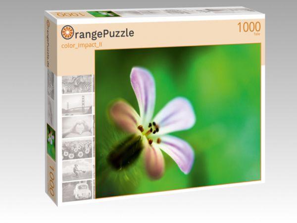 """Puzzle Motiv """"color_impact_II"""" - Puzzle-Schachtel zu 1000 Teile Puzzle"""