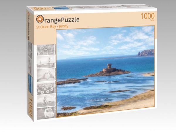 """Puzzle Motiv """"St Ouen Bay - Jersey"""" - Puzzle-Schachtel zu 1000 Teile Puzzle"""