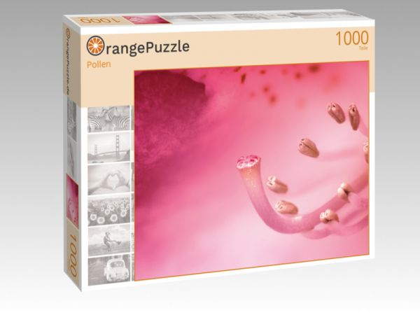 """Puzzle Motiv """"Pollen"""" - Puzzle-Schachtel zu 1000 Teile Puzzle"""