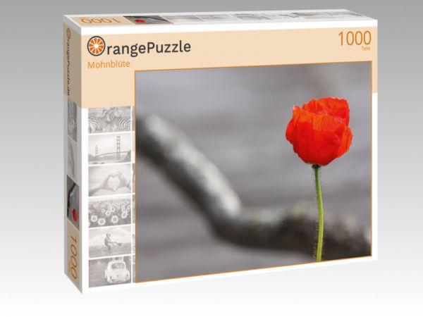 """Puzzle Motiv """"Mohnblüte"""" - Puzzle-Schachtel zu 1000 Teile Puzzle"""
