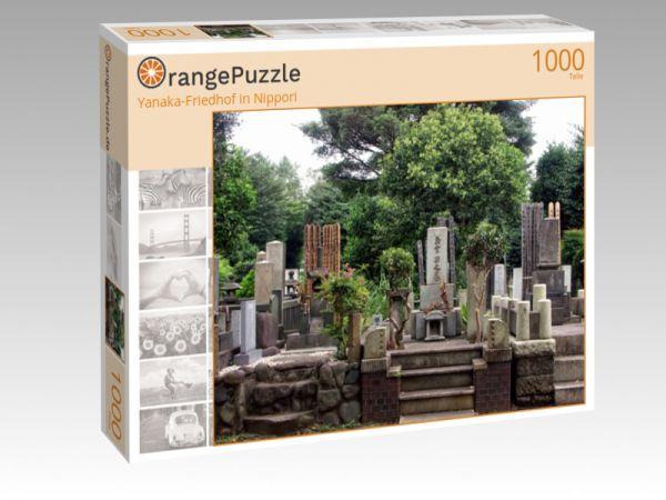 "Puzzle Motiv ""Yanaka-Friedhof in Nippori"" - Puzzle-Schachtel zu 1000 Teile Puzzle"