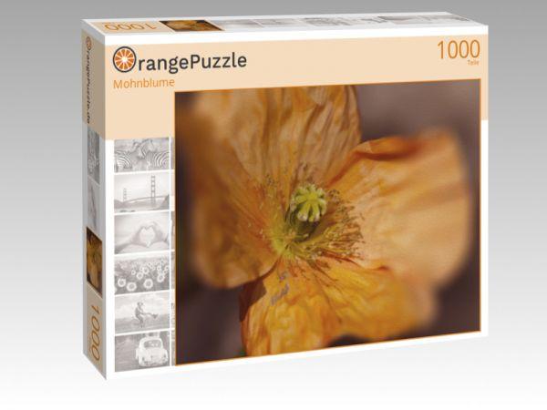 """Puzzle Motiv """"Mohnblume"""" - Puzzle-Schachtel zu 1000 Teile Puzzle"""