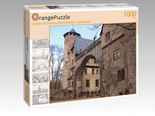 """Puzzle Motiv """"Schloss Fürstenau (Michelstadt / Steinbach)"""" - Puzzle-Schachtel zu 1000 Teile Puzzle"""