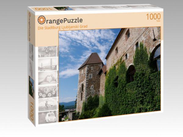 """Puzzle Motiv """"Die Stadtburg Ljubljanski Grad"""" - Puzzle-Schachtel zu 1000 Teile Puzzle"""