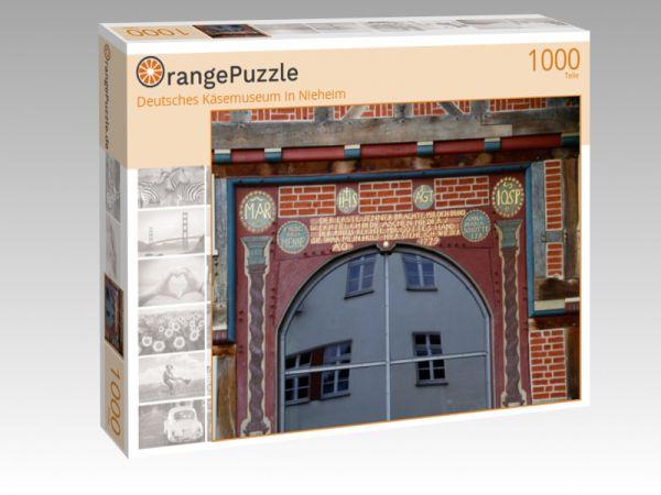 """Puzzle Motiv """"Deutsches Käsemuseum in Nieheim"""" - Puzzle-Schachtel zu 1000 Teile Puzzle"""