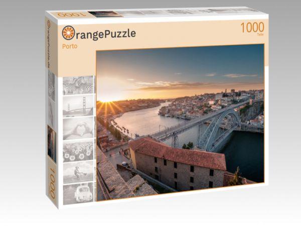 """Puzzle Motiv """"Porto"""" - Puzzle-Schachtel zu 1000 Teile Puzzle"""