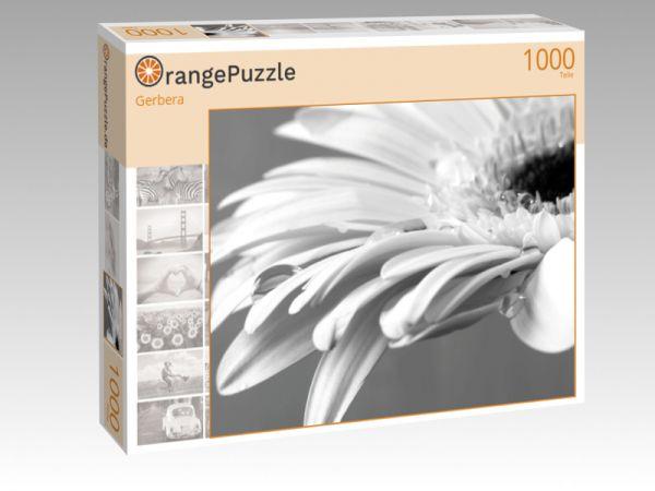 """Puzzle Motiv """"Gerbera"""" - Puzzle-Schachtel zu 1000 Teile Puzzle"""