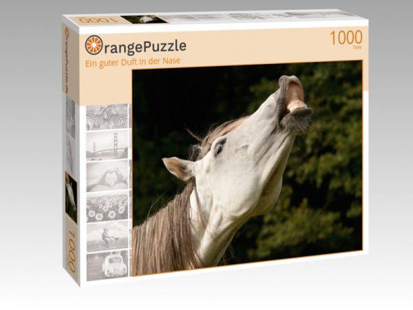 """Puzzle Motiv """"Ein guter Duft in der Nase"""" - Puzzle-Schachtel zu 1000 Teile Puzzle"""