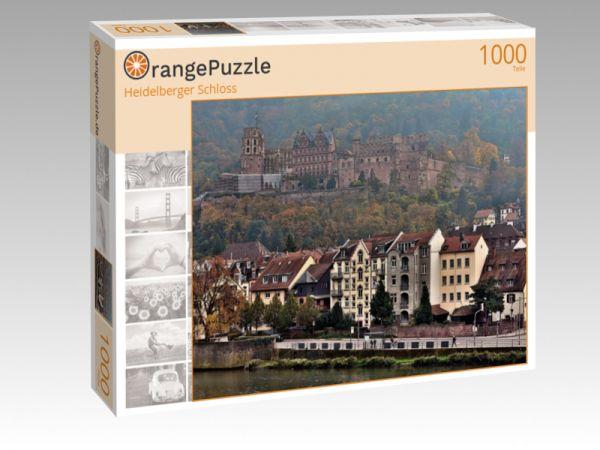 "Puzzle Motiv ""Heidelberger Schloss"" - Puzzle-Schachtel zu 1000 Teile Puzzle"