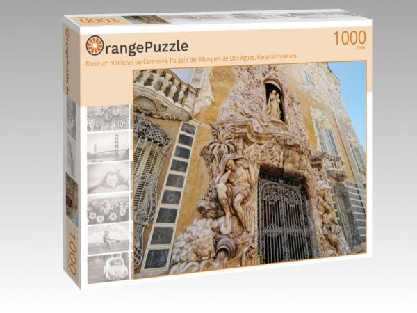 "Puzzle Motiv ""Museum Nacional de Ceramica, Palacio del Marques de Dos Aguas, Keramikmuseum"" - Puzzle-Schachtel zu 1000 Teile Puzzle"