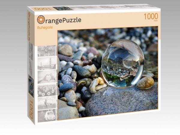 """Puzzle Motiv """"Ruhepole"""" - Puzzle-Schachtel zu 1000 Teile Puzzle"""