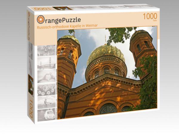 """Puzzle Motiv """"Russisch-orthodoxe Kapelle in Weimar"""" - Puzzle-Schachtel zu 1000 Teile Puzzle"""