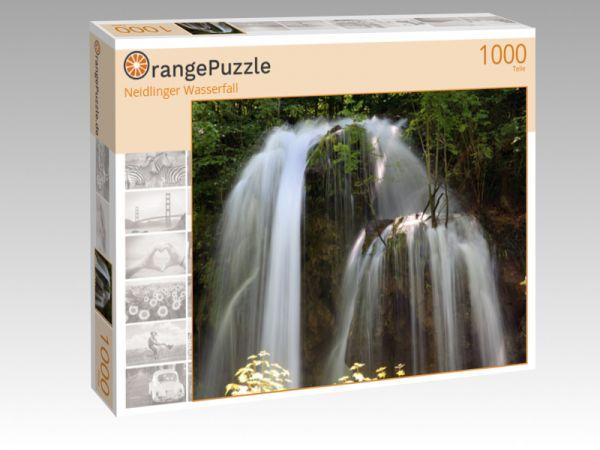 "Puzzle Motiv ""Neidlinger Wasserfall"" - Puzzle-Schachtel zu 1000 Teile Puzzle"