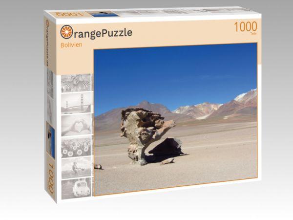 """Puzzle Motiv """"Bolivien"""" - Puzzle-Schachtel zu 1000 Teile Puzzle"""