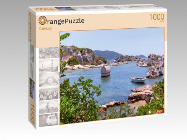 """Puzzle Motiv """"Kalekoy"""" - Puzzle-Schachtel zu 1000 Teile Puzzle"""