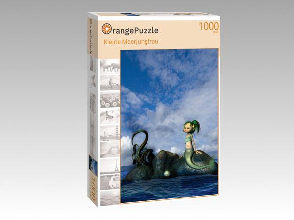 "Puzzle Motiv ""Kleine Meerjungfrau"" - Puzzle-Schachtel zu 1000 Teile Puzzle"