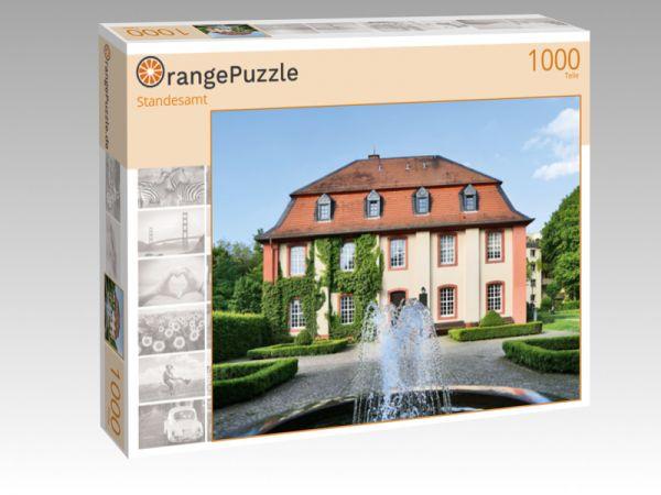 """Puzzle Motiv """"Standesamt"""" - Puzzle-Schachtel zu 1000 Teile Puzzle"""