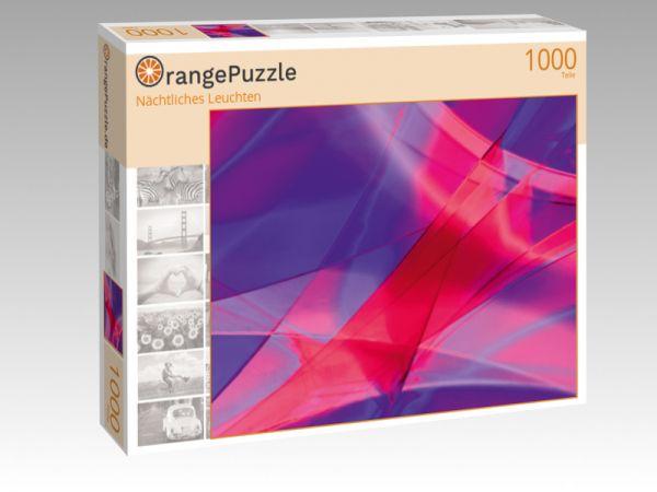 """Puzzle Motiv """"Nächtliches Leuchten"""" - Puzzle-Schachtel zu 1000 Teile Puzzle"""
