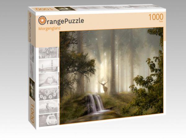 """Puzzle Motiv """"Morgenglanz"""" - Puzzle-Schachtel zu 1000 Teile Puzzle"""
