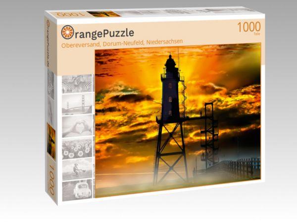 """Puzzle Motiv """"Obereversand, Dorum-Neufeld, Niedersachsen"""" - Puzzle-Schachtel zu 1000 Teile Puzzle"""