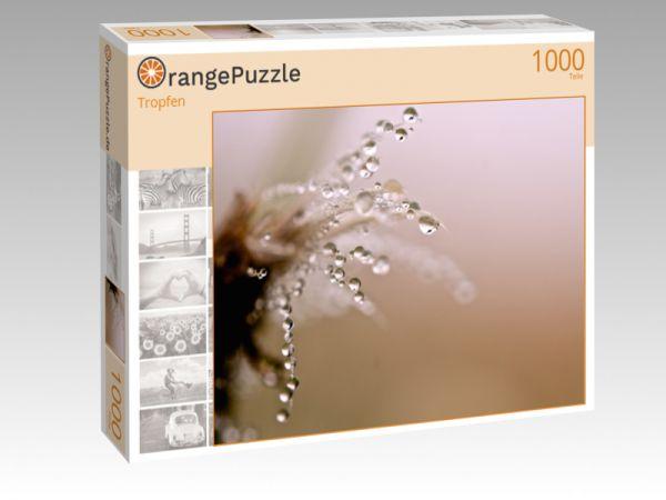 """Puzzle Motiv """"Tropfen"""" - Puzzle-Schachtel zu 1000 Teile Puzzle"""
