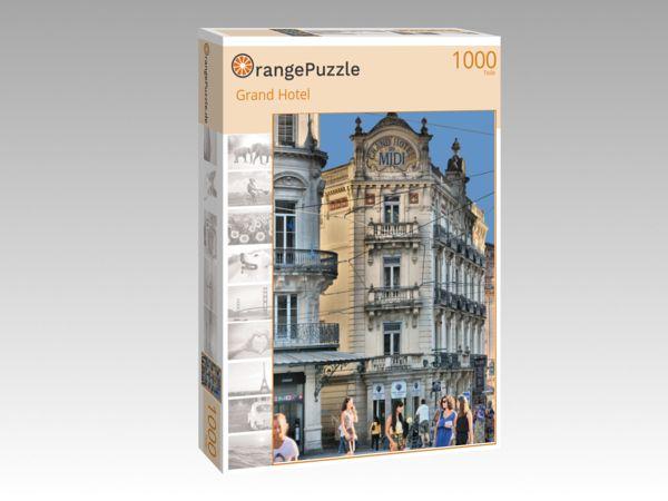 Puzzle Grand Hotel Orangepuzzle Orangepuzzle
