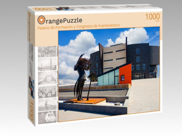 """Puzzle Motiv """"Palacio de Formación y Congresos de Fuerteventura"""" - Puzzle-Schachtel zu 1000 Teile Puzzle"""