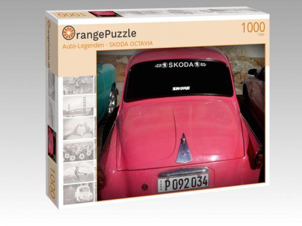 "Puzzle Motiv """"Auto-Legenden - SKODA OCTAVIA"""" - Puzzle-Schachtel zu 1000 Teile Puzzle"