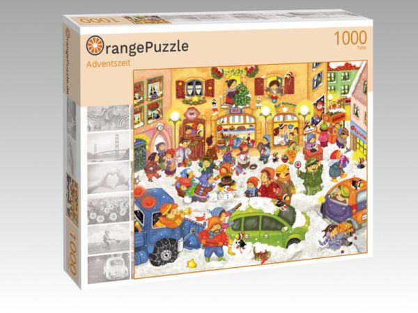 """Puzzle Motiv """"Adventszeit"""" - Puzzle-Schachtel zu 1000 Teile Puzzle"""