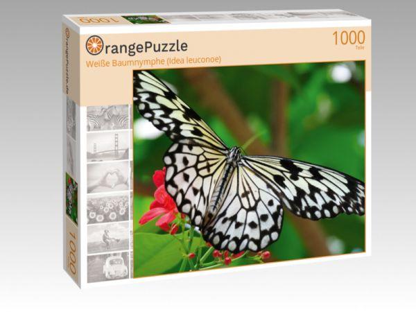 """Puzzle Motiv """"Weiße Baumnymphe (Idea leuconoe)"""" - Puzzle-Schachtel zu 1000 Teile Puzzle"""