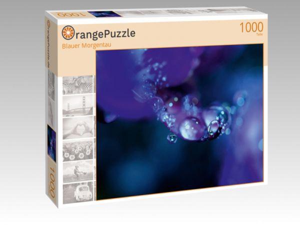 """Puzzle Motiv """"Blauer Morgentau"""" - Puzzle-Schachtel zu 1000 Teile Puzzle"""