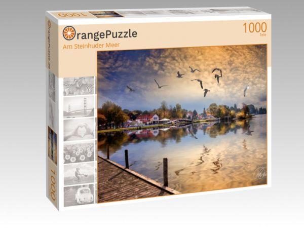 """Puzzle Motiv """"Am Steinhuder Meer"""" - Puzzle-Schachtel zu 1000 Teile Puzzle"""