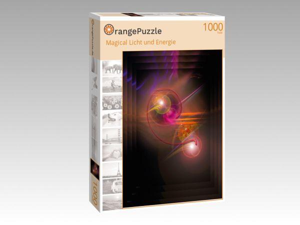 """Puzzle Motiv """"Magical Licht und Energie"""" - Puzzle-Schachtel zu 1000 Teile Puzzle"""