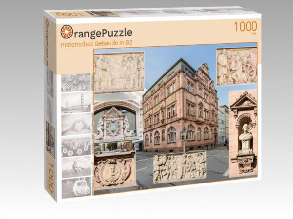 """Puzzle Motiv """"Historisches Gebäude in B2"""" - Puzzle-Schachtel zu 1000 Teile Puzzle"""
