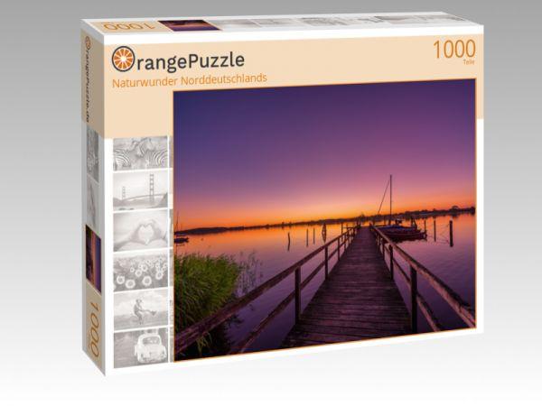 """Puzzle Motiv """"Naturwunder Norddeutschlands"""" - Puzzle-Schachtel zu 1000 Teile Puzzle"""