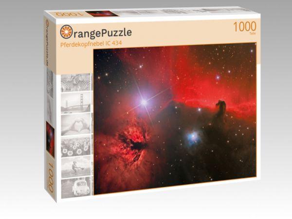 """Puzzle Motiv """"Pferdekopfnebel IC 434"""" - Puzzle-Schachtel zu 1000 Teile Puzzle"""