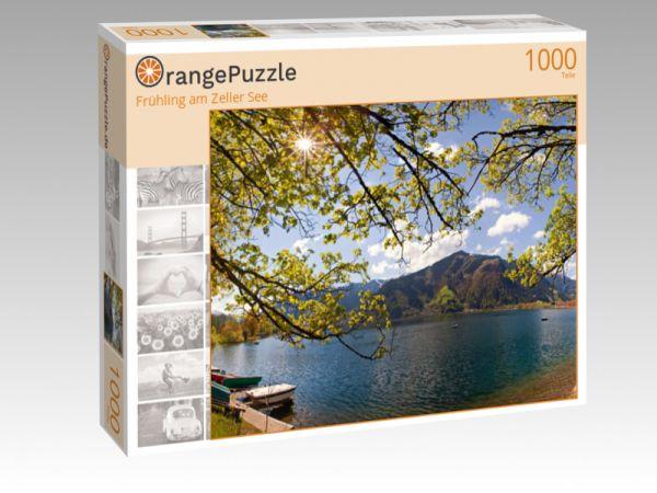 """Puzzle Motiv """"Frühling am Zeller See"""" - Puzzle-Schachtel zu 1000 Teile Puzzle"""