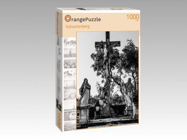 """Puzzle Motiv """"Kalvarienberg"""" - Puzzle-Schachtel zu 1000 Teile Puzzle"""