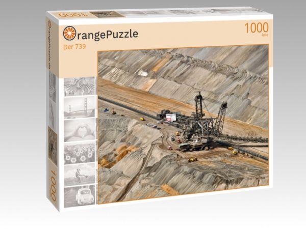 """Puzzle Motiv """"Der 739"""" - Puzzle-Schachtel zu 1000 Teile Puzzle"""