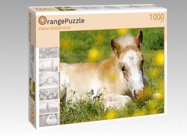 """Puzzle Motiv """"Kleine Schlafmütze"""" - Puzzle-Schachtel zu 1000 Teile Puzzle"""