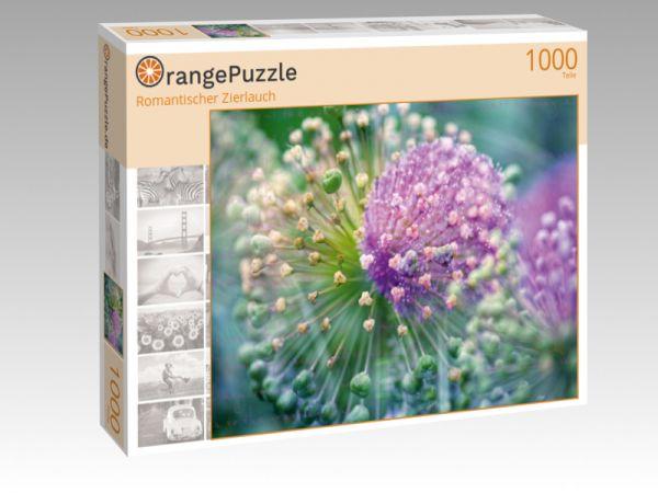 """Puzzle Motiv """"Romantischer Zierlauch"""" - Puzzle-Schachtel zu 1000 Teile Puzzle"""