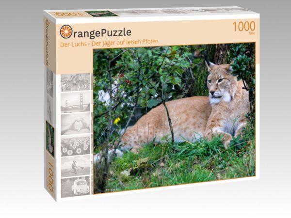 """Puzzle Motiv """"Der Luchs - Der Jäger auf leisen Pfoten"""" - Puzzle-Schachtel zu 1000 Teile Puzzle"""