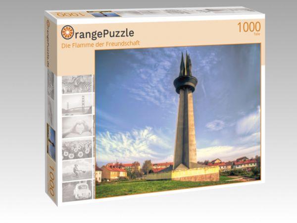 """Puzzle Motiv """"Die Flamme der Freundschaft"""" - Puzzle-Schachtel zu 1000 Teile Puzzle"""