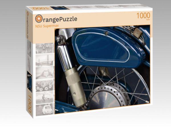 """Puzzle Motiv """"NSU Supermax"""" - Puzzle-Schachtel zu 1000 Teile Puzzle"""