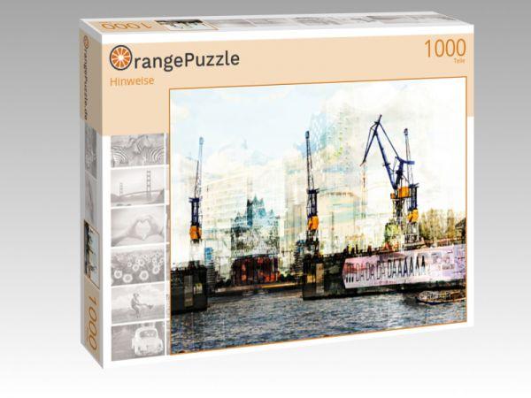 """Puzzle Motiv """"Hinweise"""" - Puzzle-Schachtel zu 1000 Teile Puzzle"""