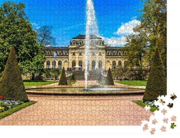 """Puzzle-Motiv """"Schlossgarten vor der Orangerie im historischen Fulda, Deutschland"""" - Puzzle-Schachtel zu 1000 Teile Puzzle"""