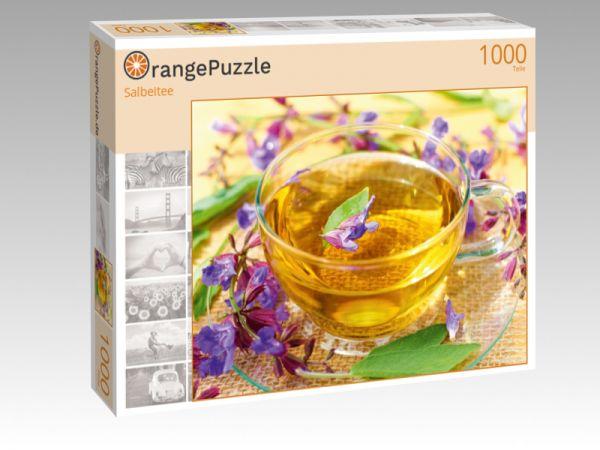 """Puzzle Motiv """"Salbeitee"""" - Puzzle-Schachtel zu 1000 Teile Puzzle"""