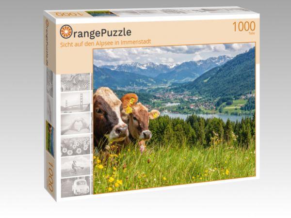 """Puzzle Motiv """"Sicht auf den Alpsee in Immenstadt"""" - Puzzle-Schachtel zu 1000 Teile Puzzle"""