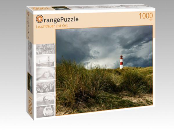 """Puzzle Motiv """"Leuchtfeuer List-Ost"""" - Puzzle-Schachtel zu 1000 Teile Puzzle"""