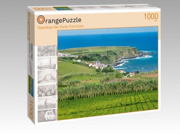"""Puzzle Motiv """"Teeanbau bei Porto Formoso"""" - Puzzle-Schachtel zu 1000 Teile Puzzle"""